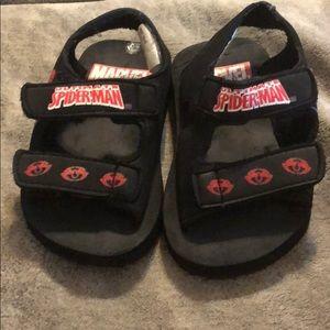 4for$12 Marvel/Spider-Man Velcro sandals S(5-6)